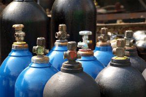 الغازات المضغوطة