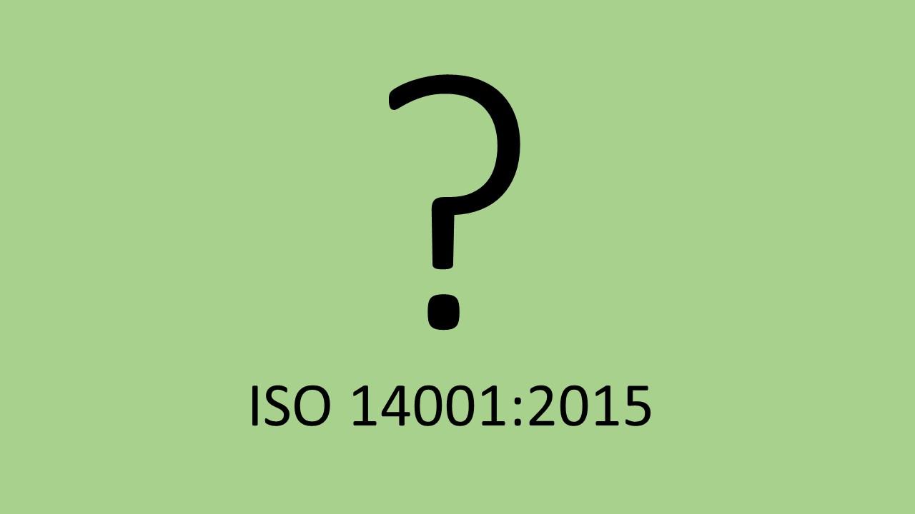 ايزو 14001 - 2015