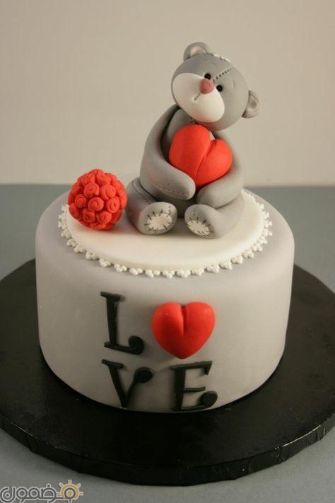 تورتة قلب 5 صور تورتات عيد زواج رومانسية
