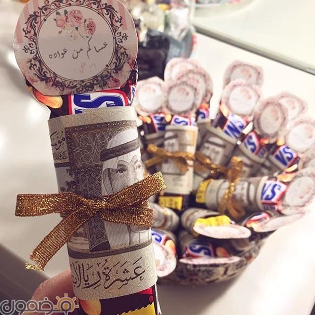 توزيعات عيدية العيد 11 توزيعات عيدية العيد صور العيدية الخليجية