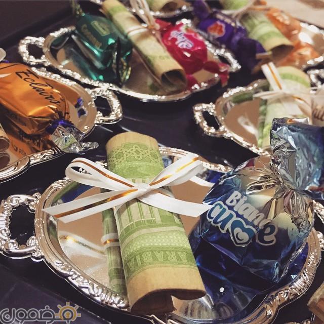 توزيعات عيدية العيد 6 توزيعات عيدية العيد صور العيدية الخليجية