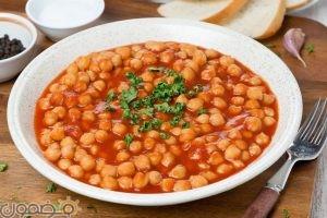 حمص 300x200 طريقة عمل الحمص بالطماطم المجففة