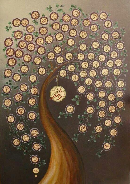 خلفيات اسلامية اسماء الله الحسنى صور خلفيات اسلامية جميلة للكمبيوتر والجوال