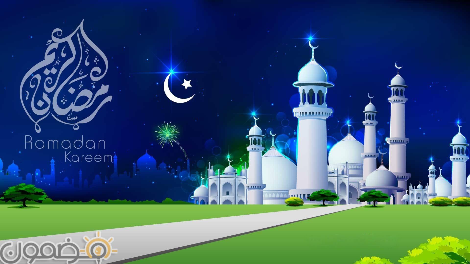 خلفيات رمضان كريم تويتر 7 خلفيات رمضان كريم تويتر تويتات رمضانية