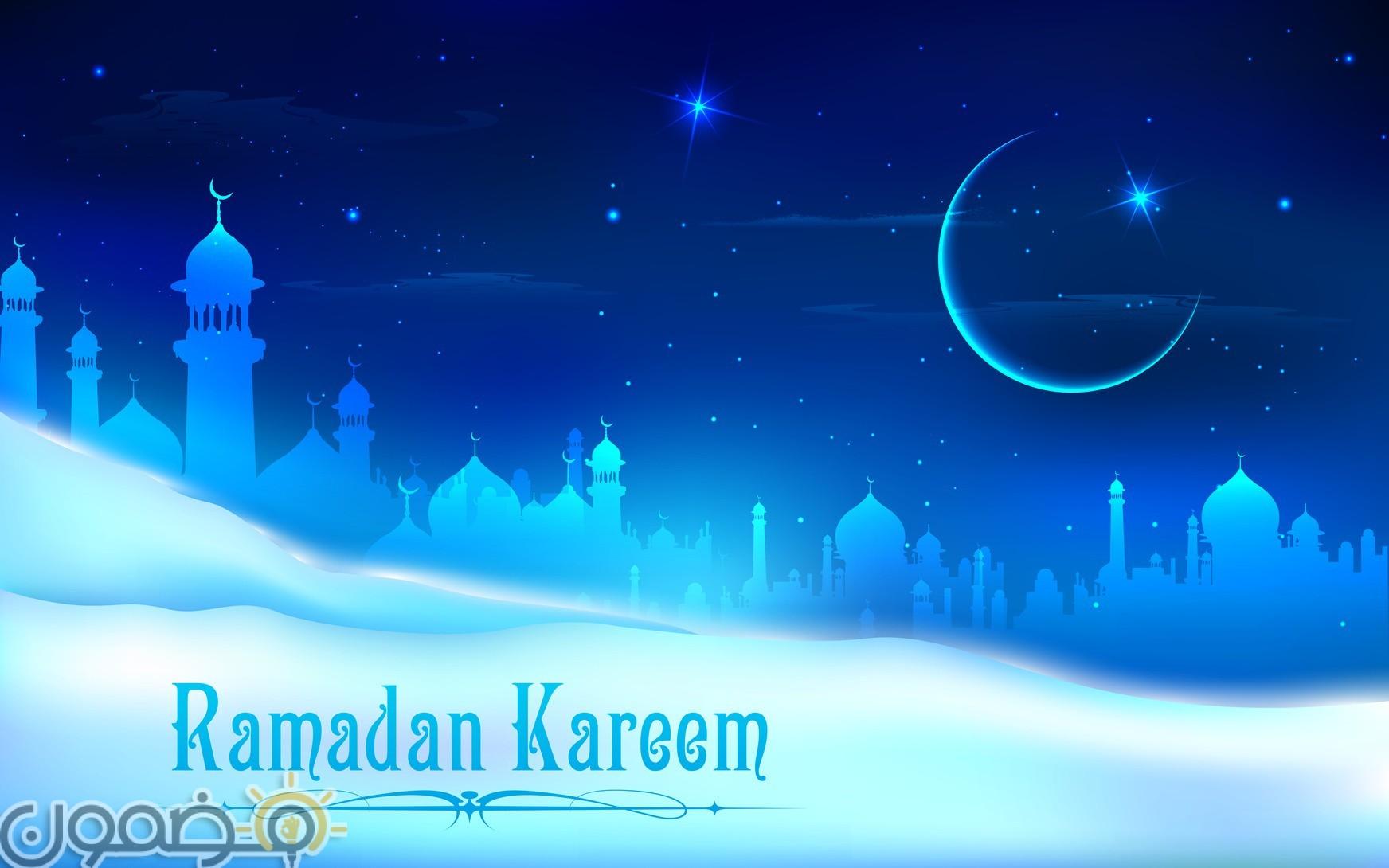 خلفيات رمضان كريم تويتر 8 خلفيات رمضان كريم تويتر تويتات رمضانية