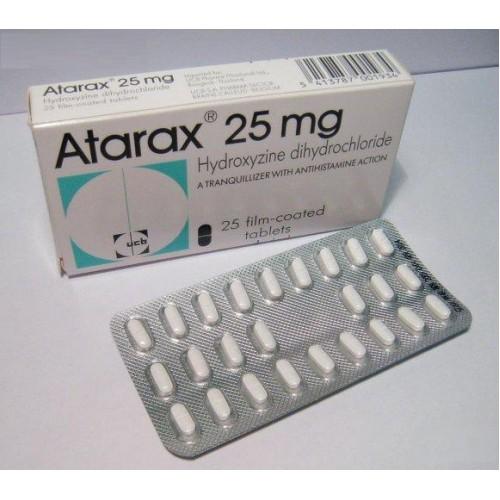 دواء أتراكس لعلاج حساسية الجلد