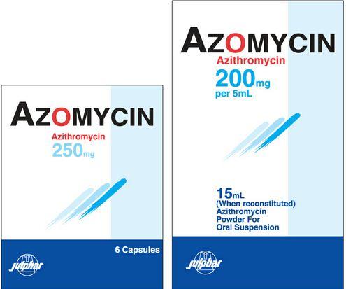 دواء أزومايسين مضاد حيوي