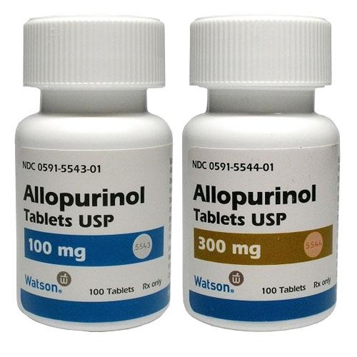 دواء ألوبيورينول لعلاج النقرس