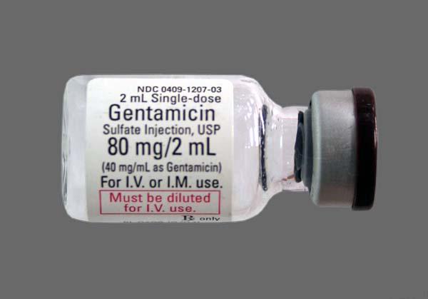 دواء جنتاميسين مضاد حيوى