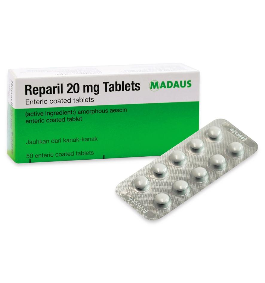 دواء ريباريل لعلاج الدوالى