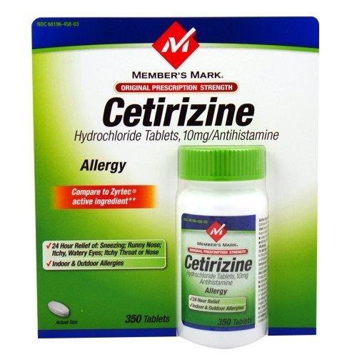 دواء سيتريزين لعلاج للحساسية