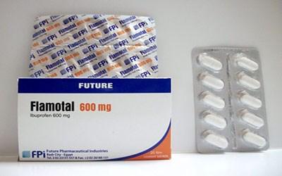 دواء فلاموتال مسكن للألم