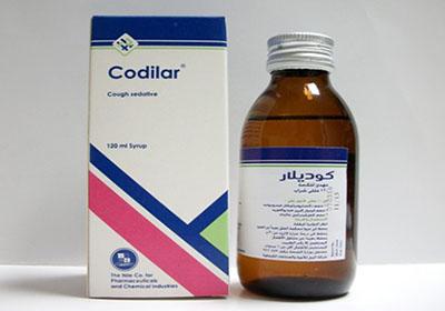 دواء كوديلار لعلاج الكحة الجافة