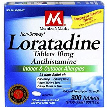 دواء لوراتادين لعلاج الحساسية