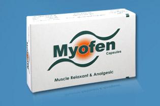 دواء ميوفين لعلاج الالم والالتهابات