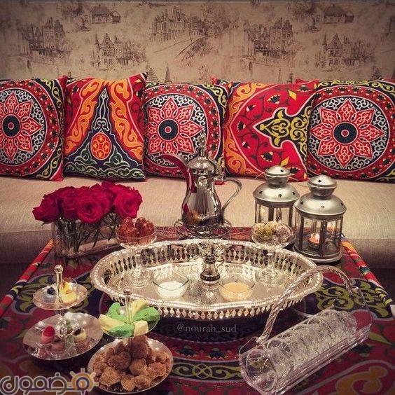 ديكورات رمضانية عربية 5 ديكورات رمضانية عربية لليفنج روم