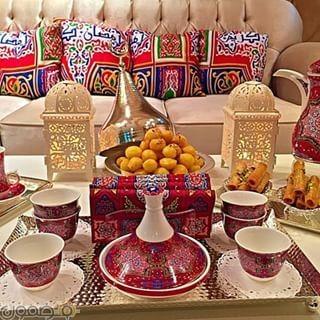 ديكورات رمضان بالقماش الملون 2 ديكورات رمضان بالقماش الملون تصميمات جديدة