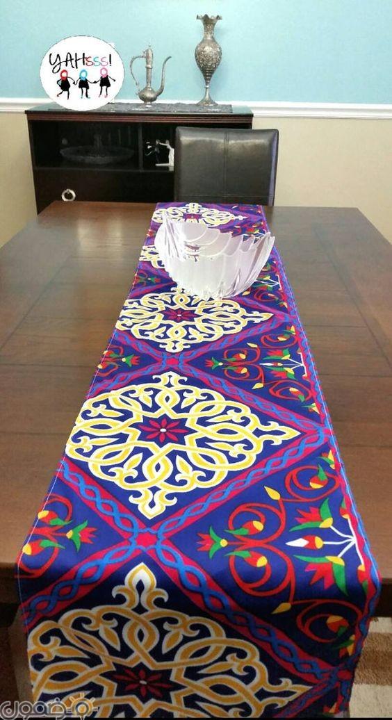 ديكورات رمضان بالقماش الملون 3 ديكورات رمضان بالقماش الملون تصميمات جديدة