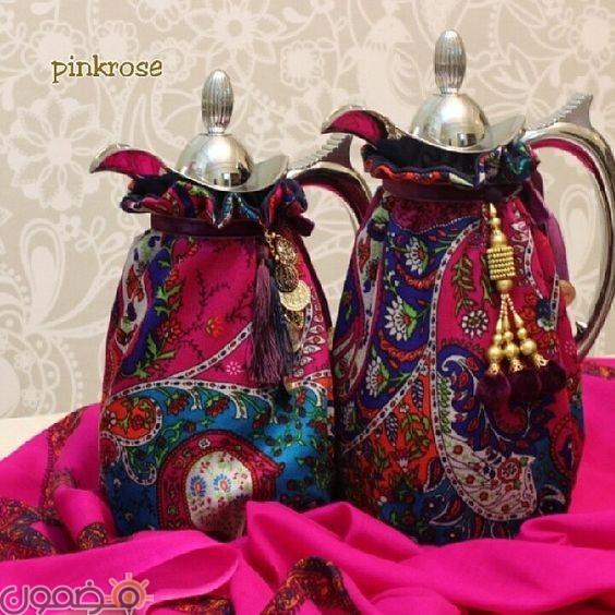 ديكورات رمضان بالقماش الملون 4 ديكورات رمضان بالقماش الملون تصميمات جديدة