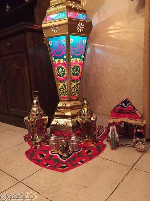 ديكورات رمضان بالقماش الملون 7 ديكورات رمضان بالقماش الملون تصميمات جديدة