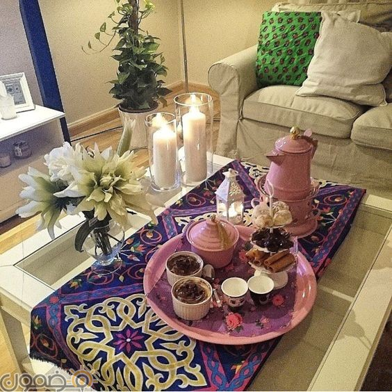 ديكورات رمضان بالقماش الملون 8 ديكورات رمضان بالقماش الملون تصميمات جديدة