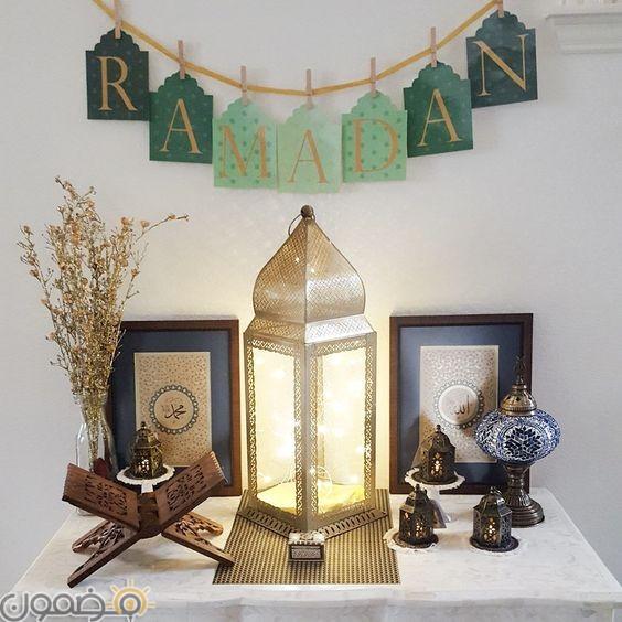 ديكورات رمضان مودرن 12 صور ديكورات رمضان مودرن للبيوت العصرية