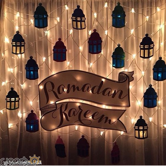 ديكور زينة رمضان 3 صور ديكور زينة رمضان في البيت بشكل عصري