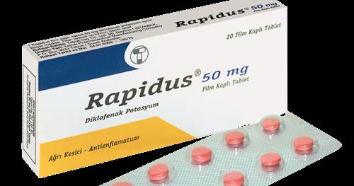 رابيدوس مسكن لعلاج الالتهابات