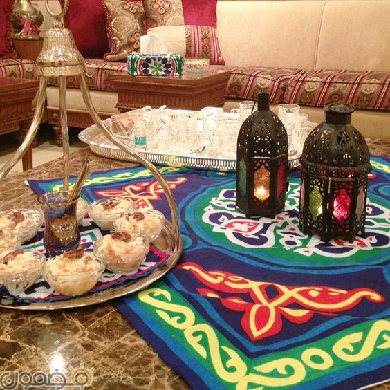 زينة رمضان بالقماش الخيامية 10 طريقة عمل زينة رمضان بالقماش الخيامية