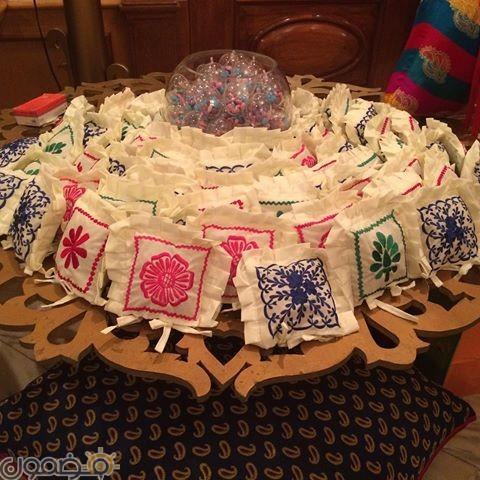 زينة رمضان بالقماش الخيامية 3 طريقة عمل زينة رمضان بالقماش الخيامية