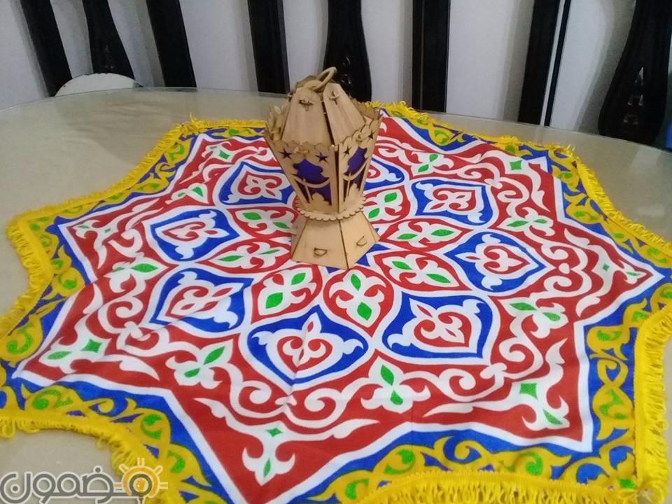 زينة رمضان بالقماش الخيامية 8 طريقة عمل زينة رمضان بالقماش الخيامية