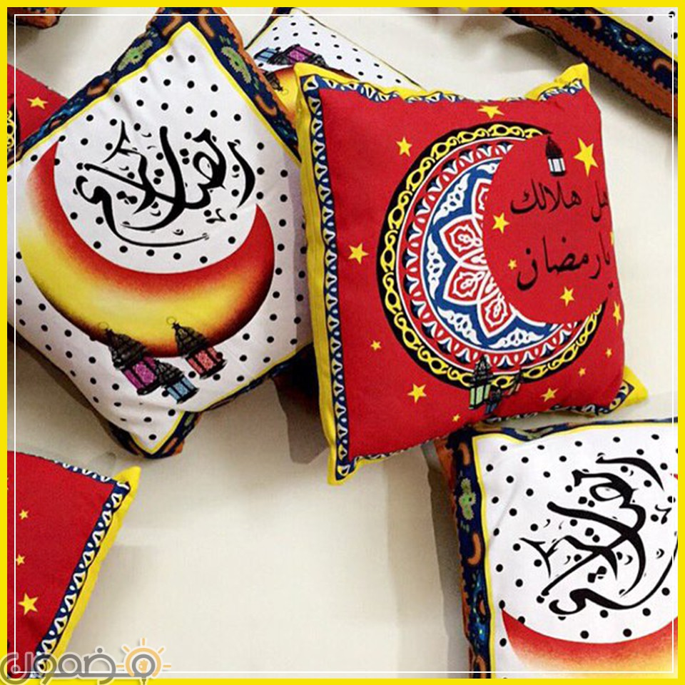 زينة رمضان بالقماش الخيامية 9 طريقة عمل زينة رمضان بالقماش الخيامية
