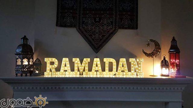 زينة رمضان في البيت 6 زينة رمضان بالورق في البيت من الداخل