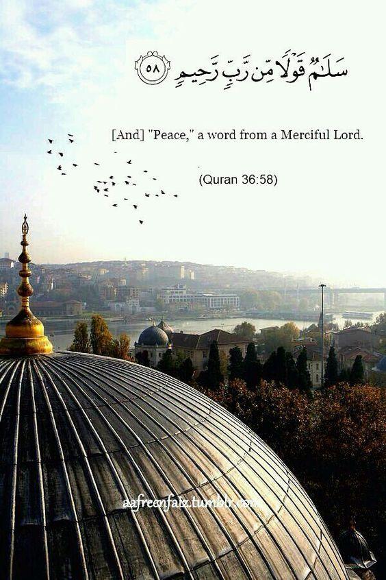 سلام قول من رب رحيم صور دينية آيات من القرآن الكريم روعة للفيسبوك