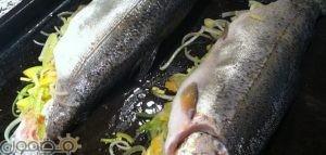 سمك محشي بالفرن 300x143 طريقة عمل سمك محشى بالفرن