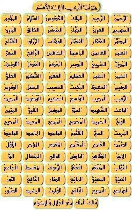 صور اسماء الله الحسنى 10 صور اسماء الله الحسنى من احصاها دخل الجنة