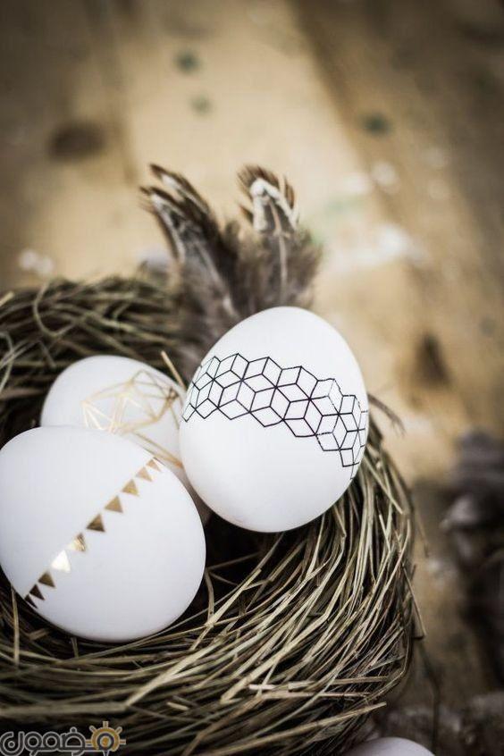 صور بيض شم النسيم 2 1 صور بيض شم النسيم الملون فيس بوك