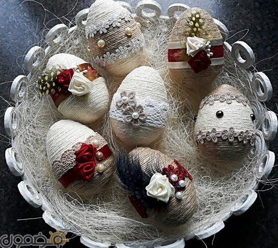 صور بيض شم النسيم 8 صور بيض شم النسيم الملون فيس بوك