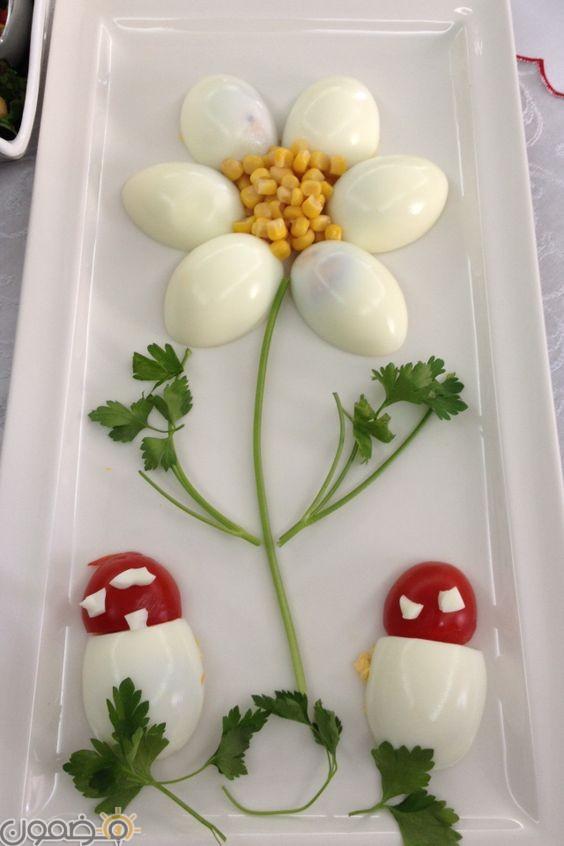 صور تقطيع بيض شم النسيم 1 صور تقطيع بيض شم النسيم بطريقة جديدة