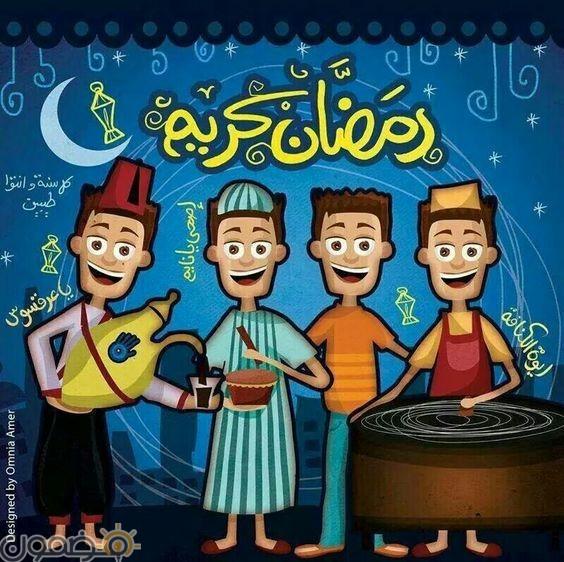 صور رمضانية كرتونية 1 صور رمضانية كرتونية عن شهر رمضان الفضيل