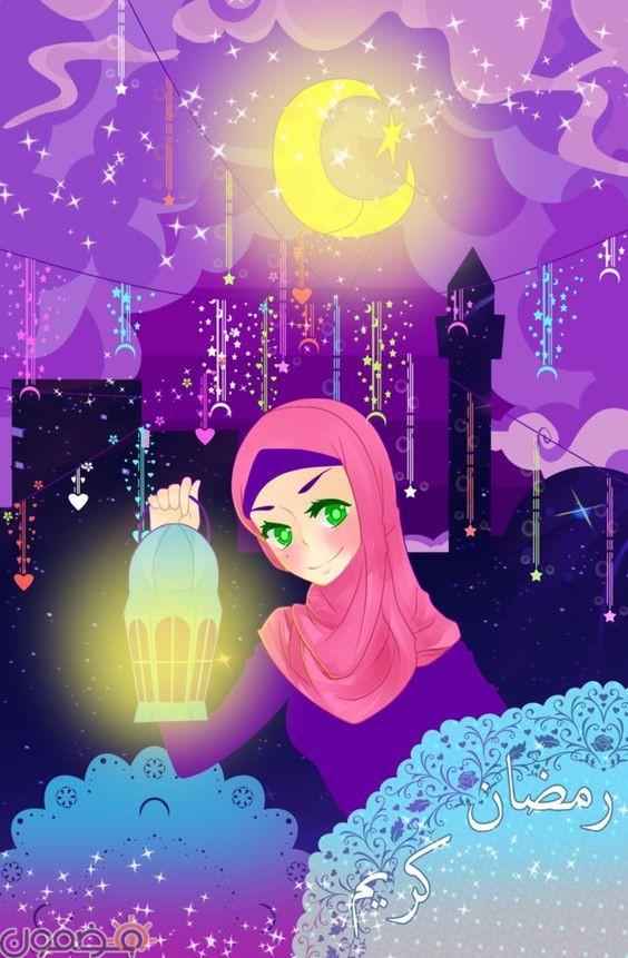 صور رمضانية كرتونية 3 صور رمضانية كرتونية عن شهر رمضان الفضيل