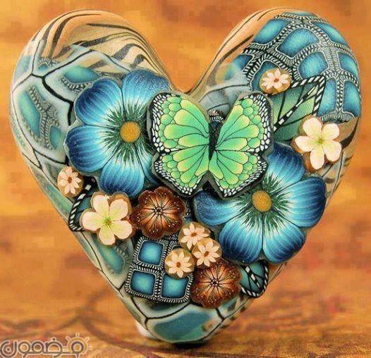 صور قلوب ملونه 3 صور قلوب ملونه خلفيات للفيس بوك