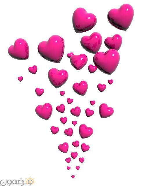 صور قلوب ملونه 5 صور قلوب ملونه خلفيات للفيس بوك