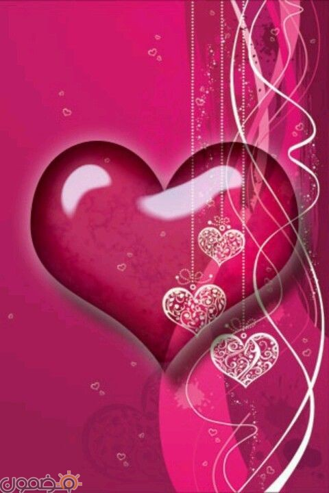 صور قلوب ملونه 8 صور قلوب ملونه خلفيات للفيس بوك