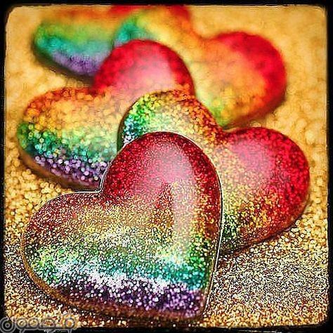 صور قلوب ملونه 9 صور قلوب ملونه خلفيات للفيس بوك