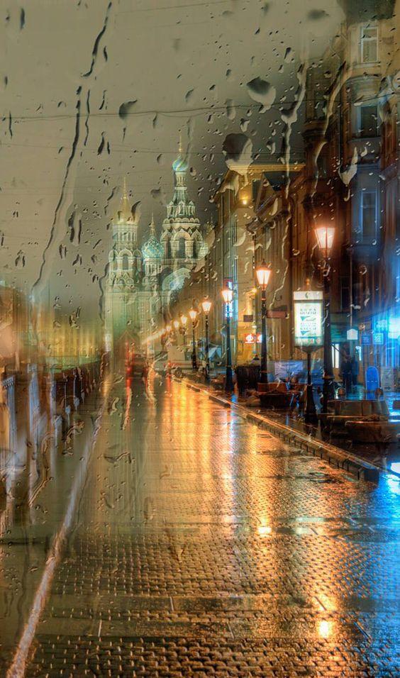 صور مطر مدن صور مطر فصل الشتاء رومانسية جميلة للفيس بوك