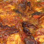 صينية بطاطس باللحمة