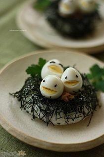 طرق تقديم البيض للاطفال 10 طرق تقديم بيض شم النسيم للاطفال بالصور