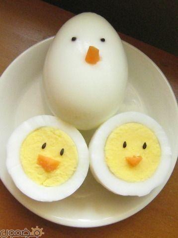 طرق تقديم البيض للاطفال 8 طرق تقديم بيض شم النسيم للاطفال بالصور
