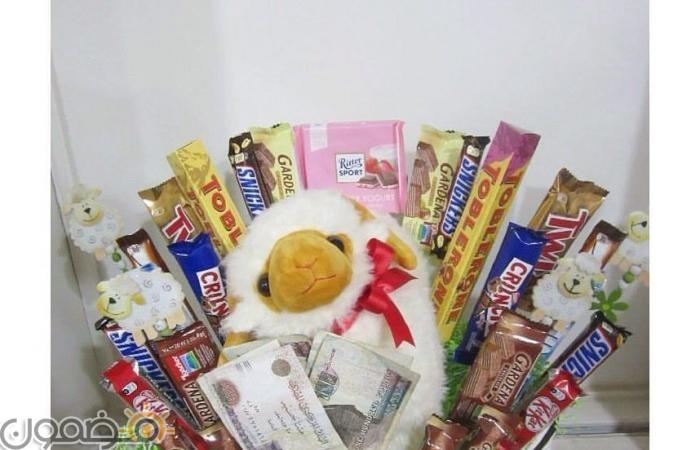 طريقة تقديم العيدية 14 طريقة تقديم العيدية بالصور للفيس بوك